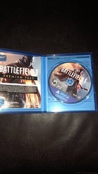 Ps4 battlefield 1 game disc  Shickshinny, 18655