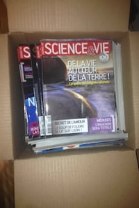 bunch of science et vie 5$ each Montréal, H3W 1M1