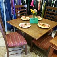 brown wooden table with chairs Las Vegas, 89115
