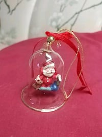 Santa Claus Bell Christmas Ornament Barrie, L4N 5B1