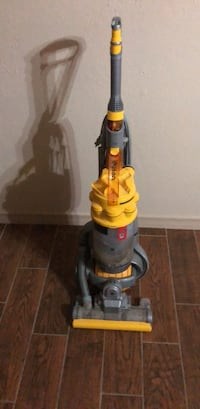 yellow and gray Dyson upright vacuum cleaner Broken Arrow, 74012