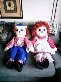 "Vintage Handmade 36"" Raggedy Ann and Andy Dolls Lake Forest, 92630"