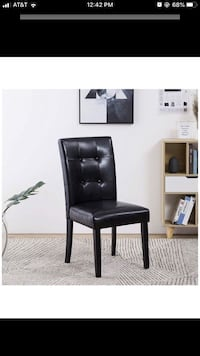 BRAND NEW Black Dining Chairs; in box ; almost gone (Kitchen/Dining)