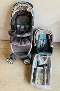 Graco FastAction Fold Stroller and Infant Car Seat Travel System Apple Valley, 55124
