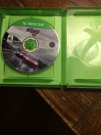 Xbox one need for speed rivals game case Montgomery, 12549