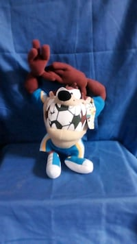 blue and brown Taz plush toy Rowlett, 75089