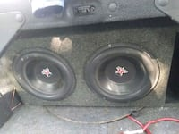 Two 12 five star subs in a box with an 800 watt Ke Cleveland, 44102