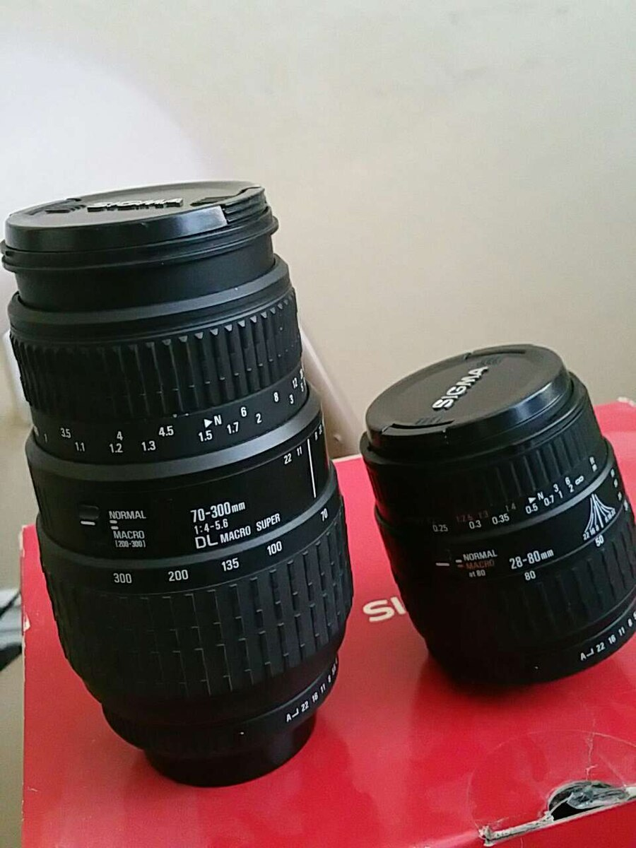 two black camera lenses for sale  Simi Valley