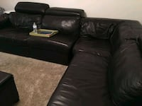 Brown leather sectional New Orleans, 70118