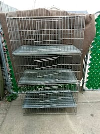 3 cage pet cage