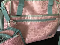 Pink and Grey diaper bag Whitby, L1R 1Z1