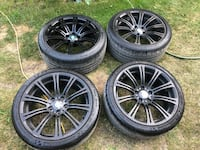 "BMW OEM M3 Rims Staggered 19"" Rims and Tires (Michelin Pilot Super Sport) Calgary, T3A"