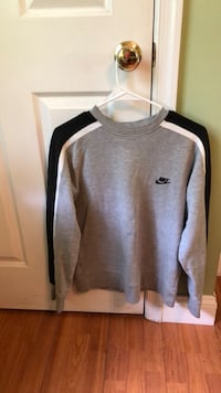 gray and black Nike pullover hoodie Fairfax, 22033