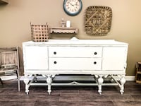 white wooden dresser with mirror Nashville, 37013