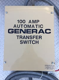 Generac automatic 100 amp transfer switch Manassas, 20109