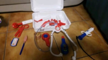 Little tikes doctor toy play set.