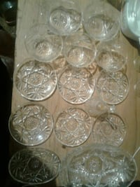 beautiful vintage hand cut crystal dishes 954 mi