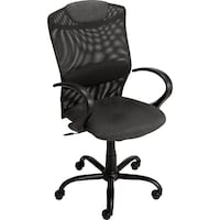 Desk Chair - Staples Vocazo Mesh Managers Chair, Black Washington
