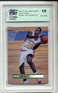 LeBron James trading card Harrisonville, 64701