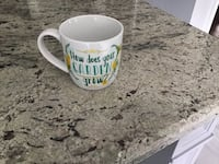 Brand new, How Does Your Garden Grow mug, Brampton, L6R