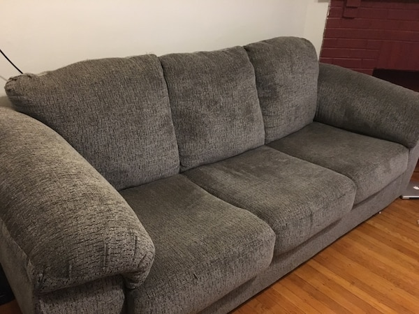 New Overstuffed Couch And Sofa Set