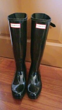 Hunter boots size 8 New York, 10007