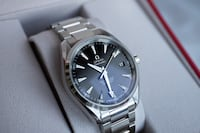Omega Aqua Terra 150M Black Dial Falls Church