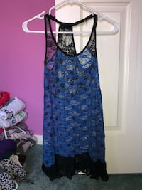 Blue lace tank top Ajax, L1T 4Y8