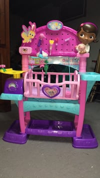 pink and purple plastic toy set New Hope, 18938