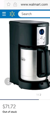 Hamilton lake coffee maker  Toronto, M9M 3A7