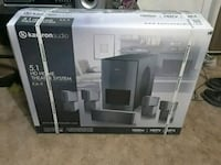 white and black home theater system box Albuquerque, 87105
