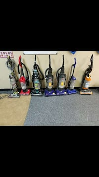 seven upright vacuum cleaners Houston, 77015