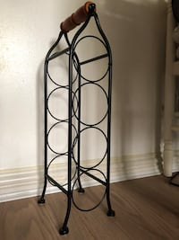 black metal wine bottle rack Harrow, HA1 2ER
