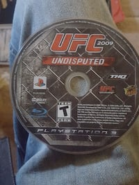 UFC 2009 Undisputed PS3 game case Merced, 95341