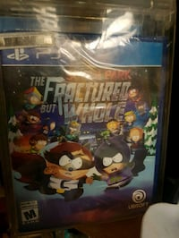 The Fractured but whole Sony PS4 case Nanaimo, V9R 1S6