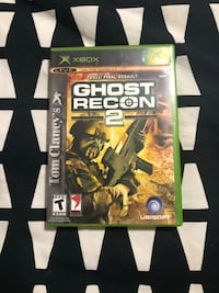XBOX Game Ghosts Recon 2 Brantford, N3R 2E3