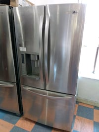 LG COMPACT REFRIGERATOR STAINLESS FRENCH DOOR
