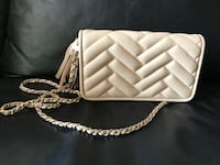 Zara Faux Leather Quilted Crossbody bag Markham, L3R
