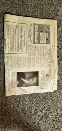 CANADIAN NEWS PAPER  ON JULY 9-1932 Calgary