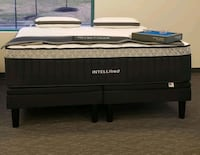 black and white leather bed mattress Alexandria, 22315