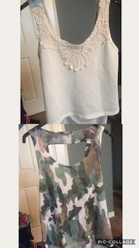 Medium Halter tops with swoop backs $5 for both London, N5X 0G1