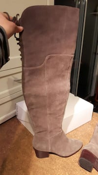 Brand new over the knee boots 7.5