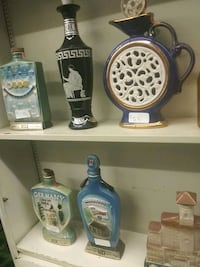 two blue and white ceramic beer steins Peoria, 61602