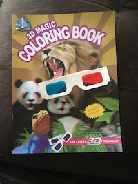 3D Magic coloring book free 3D glases