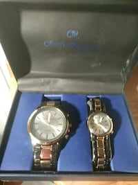 Brand New His/Her Charles Raymond Watch Set Kenner, 70062