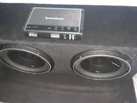 black Pioneer subwoofer with enclosure Simi Valley, 93065