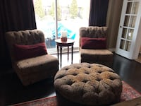 2 Accent chairs pillows included Vaughan, L4L 3N8