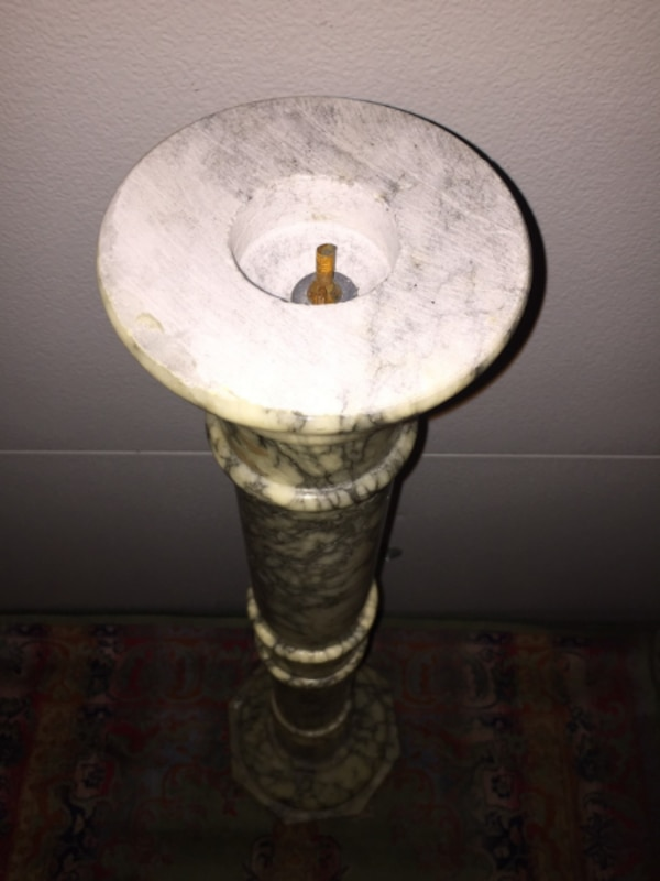 Tall Solid Marble Stand/Base 23eeebb0-3544-43a4-8eb6-62f92aac0d1a