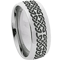 coi jewelry tungsten carbide celtic ring null