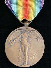 Belgian Inter-Allied Victory Medal (Shipping Available) Toronto, M4V 2C1